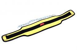Пояс нейлоновый с цепью ONHILLSPORT, 100 см, желтый
