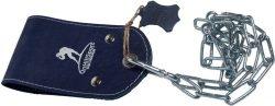 Ремешок кожаный ONHILLSPORT для отягощения на пояс, синий