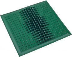 Коврик массажный от плоскостопия ONHILLSPORT, (26*26 см), зеленый