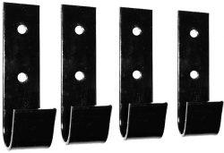 Комплект петель, крепление к турнику МК Уралспорт Workout (цвет-чёрный)