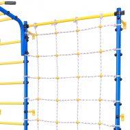 Сетка с креплением к детской шведской стенке Axioma, синяя
