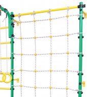 Сетка с креплением к детской шведской стенке Axioma, зеленая