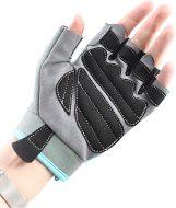 Перчатки для фитнеса Onhillsport X10 женские замш, размер xxl