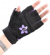 Перчатки для фитнеса Onhillsport X11 женские замш, размер l