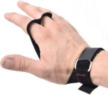 Накладки гимнастические Onhillsport GLADIATOR на 2 пальца, размер L