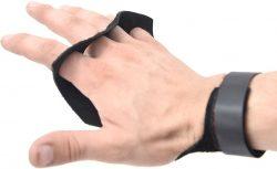Накладки гимнастические Onhillsport GLADIATOR на 4 пальца, размер XL