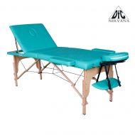 Массажный стол DFC NIRVANA Relax Pro, зеленый