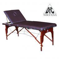 Массажный стол DFC NIRVANA Relax Pro, коричневый