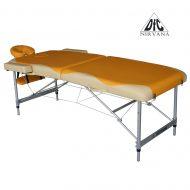 Массажный стол DFC NIRVANA Elegant PREMIUM, оранж./беж.