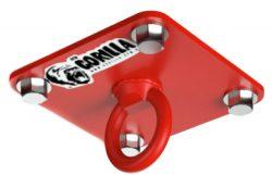 Потолочный подвес для боксерского мешка Gorilla gym, цвет красный