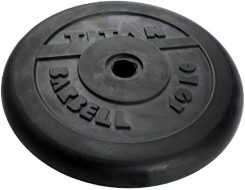 Диск TITAN чугун обрезиненный, 26 мм, 10кг