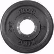 Диск Iron King Евро-Классик, стальная втулка, 51 мм, 2,5кг.