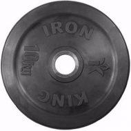 Диск Iron King Евро-Классик, стальная втулка, 51 мм, 10кг.