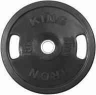 Диск Iron King Евро-Классик, стальная втулка, 51 мм, 15кг.