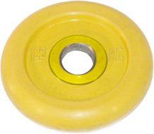 Диск Iron King Евро-Классик, стальная втулка, 51 мм, 1,25кг, цветной