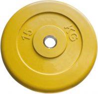 Диск Iron King Евро-Классик, стальная втулка, 51 мм, 15кг., цветной