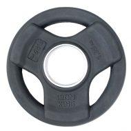 Диск SATURN, чугун, резина, стальная втулка, 51 мм, 1,25кг