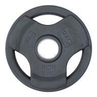 Диск SATURN, чугун, резина, стальная втулка, 51 мм, 5кг.