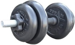 Гантель Iron King наборная 26 мм, чугун/резина, вес 9кг