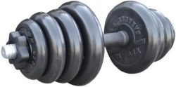 Гантель Iron King наборная 26мм, чугун/резина, вес 26,5кг.