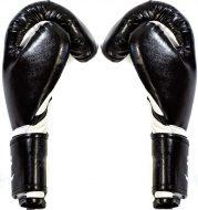 Перчатки боксерские AbCh Absolute Champion, черные, 12 унц.