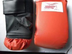 Перчатки тренировочные Absolute Champion, красные, размер L