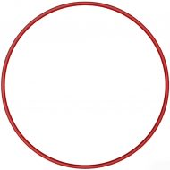 Обруч Absolute Champion, красный, диаметр 75см.