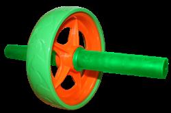 Ролик гимнастический для пресса Absolute Champion, зеленый