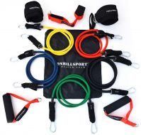 Универсальный набор трубчатых эспандеров 11 в 1 Onhillsport