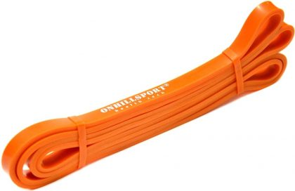 Резиновая петля для фитнеса Onhillsport, оранжевая 3-16 кг.