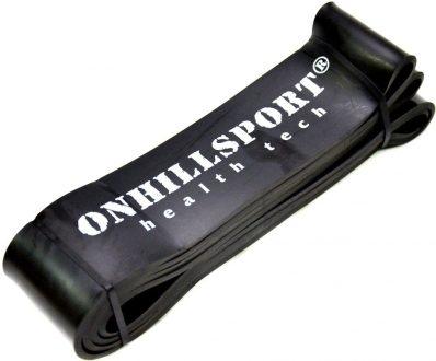 Резиновая петля для фитнеса Onhillsport, черная 25-70кг.