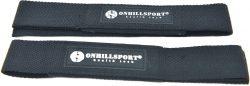 Лямки для штанги Onhillsport с подкладкой х/б стропа, черные