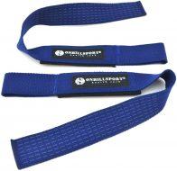 Лямки для штанги Onhillsport с подкладкой х/б стропа, синие