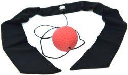 Мяч для бокса Fight Ball puncher Onhillsport, тренажер универсальный (с повязкой)