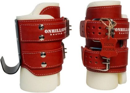 Гравитационные ботинки NEW AGE Onhillsport (до 120кг), красные