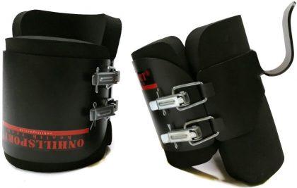 Гравитационные ботинки STEEL Onhillsport (до 120кг), металл, черные